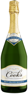 Cook's Brut Grand Reserve California Champagne